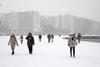 Χάος επικρατεί σε Θεσσαλονίκη και νησιά από το χιονιά