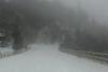 Αχαΐα: Ισχυρή χιονόπτωση στα Τριπόταμα - Κλειστή η '111'!