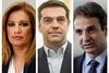 Μητσοτάκης και Γεννηματά εναντίον Τσίπρα στην Βουλή (vids)