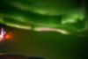Το Βόρειο Σέλας όπως φαίνεται από το παράθυρο ενός αεροπλάνου (video)