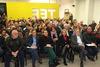 Πάτρα: Γεμάτη από κόσμο η αίθουσα του ΤΕΕ στην κοπή της πίτας της ΡΑΠ (pic)