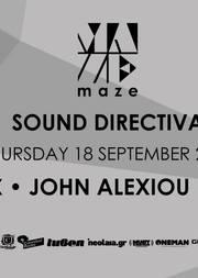 Sound Directiva - V.Rox - John Alexiou @ Maze Open Air