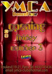Opening Party @ YMCA Dancefloor