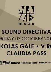 Nikolas Gale - V. Rox - Claudia pass @ Maze Open Air
