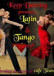 Latin & Tango Party @ Teatro Cafe