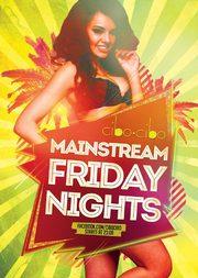 Mainstream Fridays @ Cibo Cibo