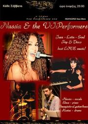 Nassia & the VIPerformers Live στο Teatro Cafe Bar