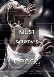 Must Saturdays στο Decco