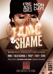 Fame n Shame στο Mods Club