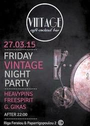 Friday Night Party στο Vintage Bar