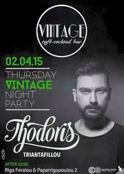 Thodoris Triantafillou στο Vintage Bar