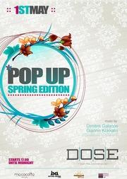 Pop Up - Spring Edition στο Dose