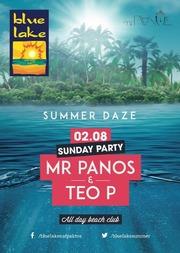 Mr Panos & Teo P στο Blue Lake