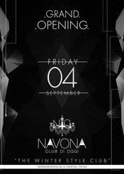 Grand Opening στο Navona Club Di Oggi
