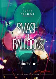 Smash the balloons στο Cibo Cibo