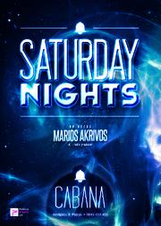 Saturday Nights στο Cabana