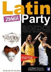 Latin Party στο Teatro Cafe