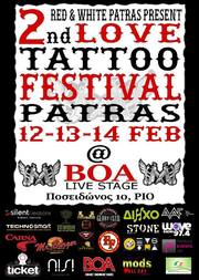 2nd Love Tattoo Festival Patras στο Boa Live Stage