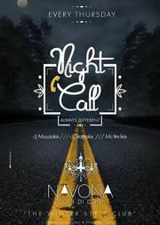 Night Call στο Navona Club Di Oggi