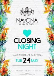Closing Night στο Navona Club di Oggi