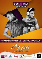 Stamatis Vakrinos & Spiros Mourkos at Mayari