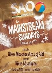 Mainstream Sundays στο Sao
