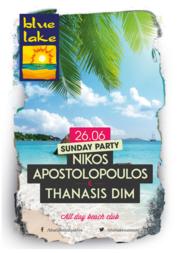 Nikos apostolopoulos & Thanasis Dim at Blue Lake