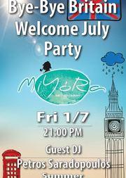 Welcome July party στο Miyora
