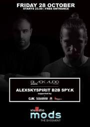 Black Audio 02 Alexskyspirit Β2Β Spy.K at Studio 46