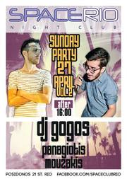 Party Dj Gogos Vs Panagiotis Mouzakis @ Space Rio