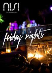Friday Nights @ Ακταίον - Nisi