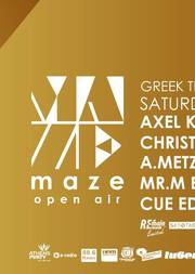 Greek Techno Rebels XL - Sessions @ Maze Open Air
