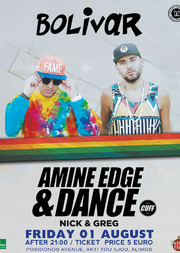 Amine Edge & DANCE @ Bolivar Beach Bar House Party