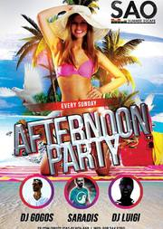Afternoon party @ Sao Beach Bar