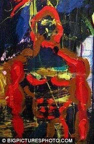 Έκθεση με πίνακες ζωγραφικής έκανε ο Σταλόνε στην Αγία Πετρούπολη