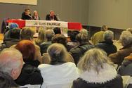 Πάτρα: Με επιτυχία πραγματοποιήθηκε η συζήτηση στρoγγυλής τραπέζης με τίτλο Je suis Charlie (pics)