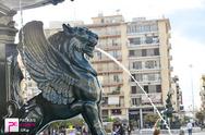 Τα συντριβάνια  της πλατείας Γεωργίου έβγαλαν και πάλι νερό - Δείτε φωτογραφίες