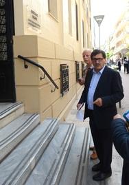 O K. Πελετίδης παρέστη στα Δικαστήρια σχετικά με την εκδίκαση ασφαλιστικών μέτρων