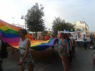 Η πολύχρωμη πορεία του 1ου Pride