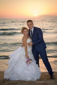 Κίμωνας & Μαρία - Ένας ρομαντικός γάμος για ένα ερωτευμένο ζευγάρι από την Πάτρα! (φωτο+video)