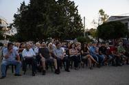 Έγινε η εκδήλωση του ΚΚΕ για τα 40 χρόνια από τη πτώση της Χούντας