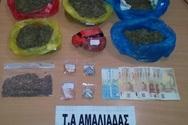 Συνελήφθη 60χρονος στην Αμαλιάδα για κατοχή και διακίνηση ναρκωτικών