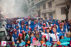>Μεγάλη Παρέλαση Πατρινού Καρναβαλιού Group 103 SWAG & Yankees 22-02-15 Part 3/3