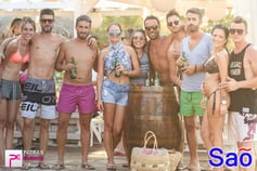 >Mainstream Sundays στο Sao Beach Bar 26-07-15 Part 1/2