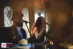 >Βαγγέλης Κακουλάκης & Ευδοκία Ράπτη live στο Teatro Cafe Bar 10-10-15