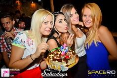 >We Love Saturdays @ Space Club Rio 30-08-14 Part 1/3