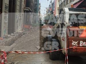 Πάτρα: Το έχουν «τάμα» στις γιορτές; - Εργασίες στη Ρήγα Φεραίου την περίοδο των Χριστουγέννων (pics)
