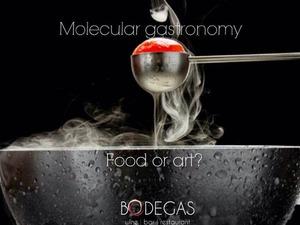 Η αποθέωση της μοριακής κουζίνας στο Bodegas!