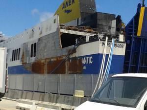 Το Norman Atlantic όπως το φωτογράφισε Πατρινός, 5 μήνες μετά!