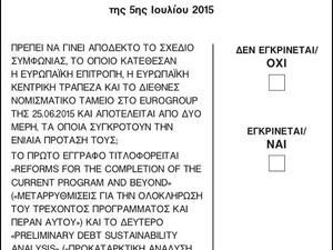 Δημοψήφισμα: Πού ψηφίζω και τι πρέπει να γνωρίζω